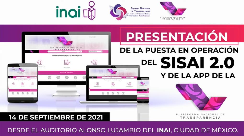 14 de septiembre del 2021, puesta en marcha de SISAI 2.0